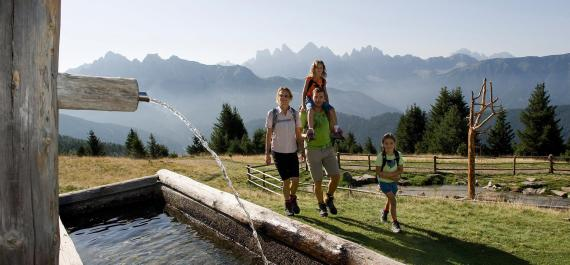 Vacanza in famiglia in Valle Isarco